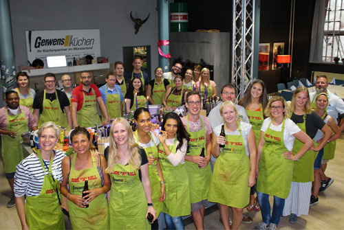 Team-Event Kochen